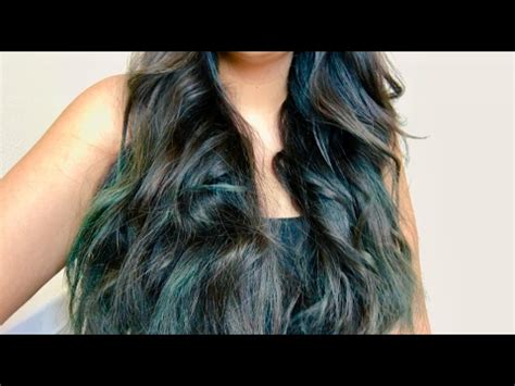 Dyeing My Hair At Home - L'Oréal Colorista TEAL10 - YouTube