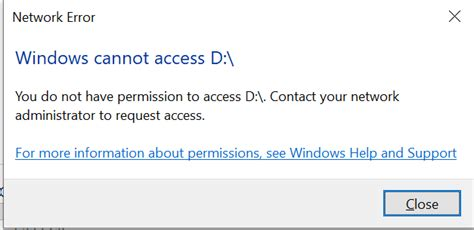 """""""You do not have permission to access"""