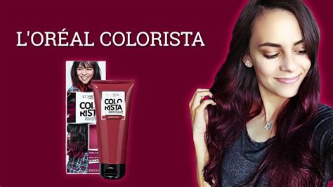 DYEING MY HAIR RED! | L'OREAL COLORISTA REVIEW! - YouTube